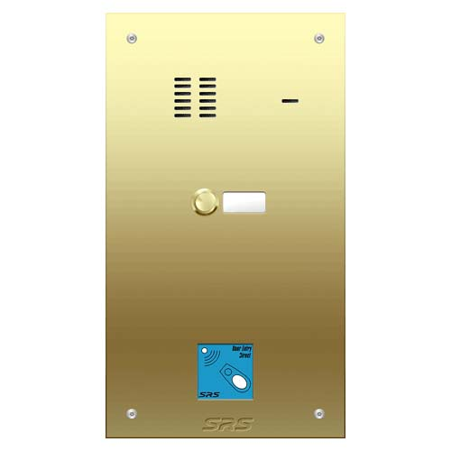 01 way VR audio brass panel, name wind. prox. size D