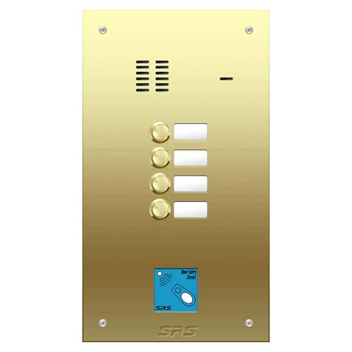 04 way VR audio brass panel, name wind. prox. size D
