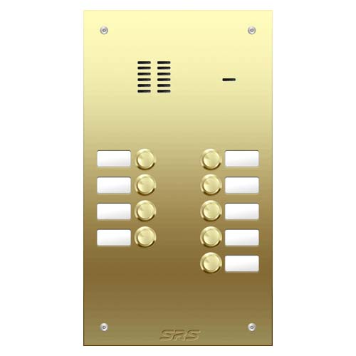 09 way VR audio brass panel, name window size D