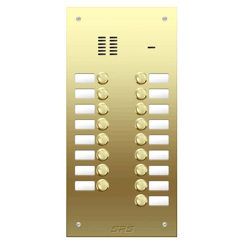 17 way VR audio brass panel, name window size D2