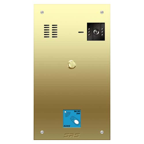 01 way VR brass video panel, prox. size D