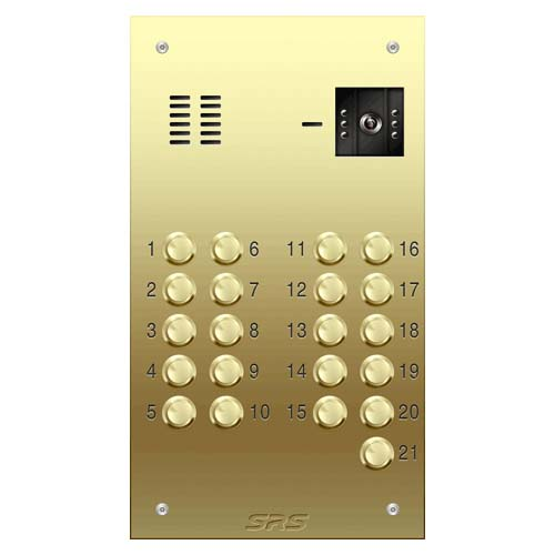 21 way VR brass video panel, size D