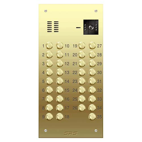 35 way VR brass video panel, size D2