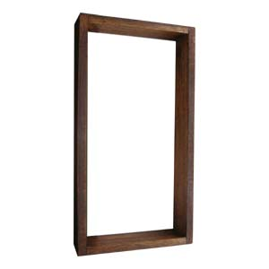 Size D1 Hardwood frame (surface mount) ext 355x187x50