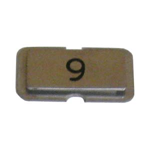 Stainless steel name plate engraved 9