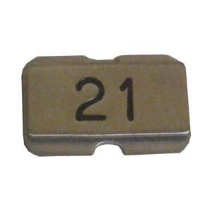 Stainless steel name plate engraved 21