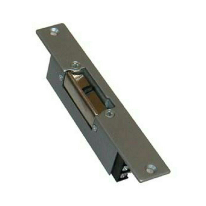 N12/305 Latch mortise release Grey 12V DC FLm