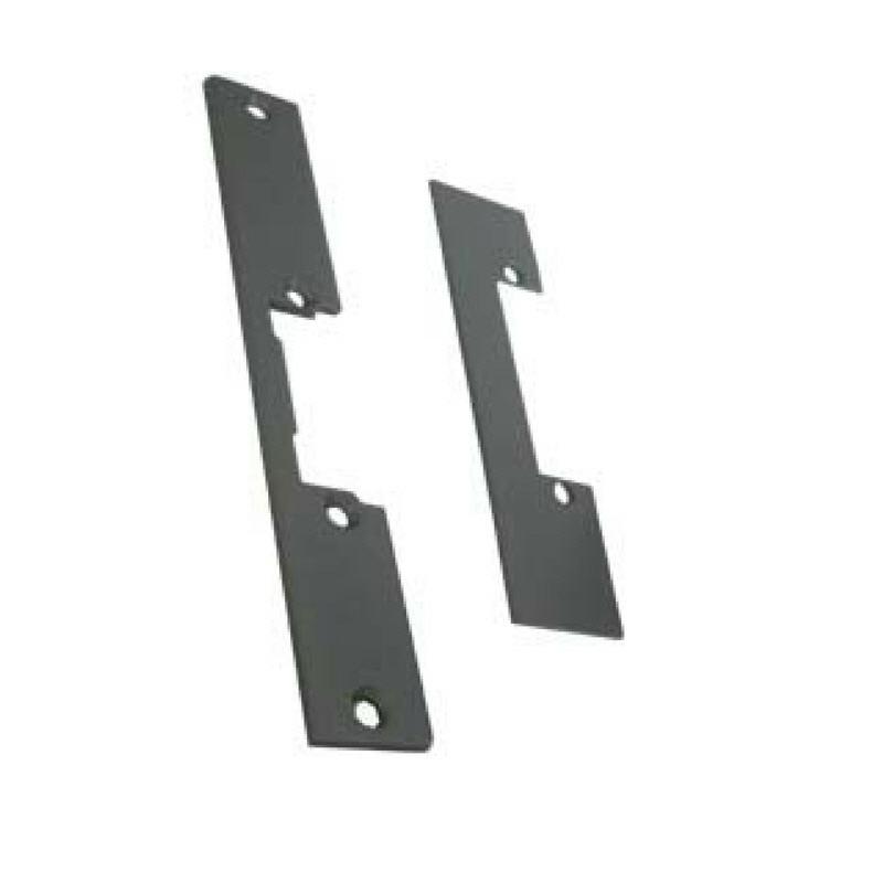 MP MC Mortise latch release plate Grey 158mm
