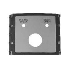 K-Steel 1 button DDA module with speak/door open LED's