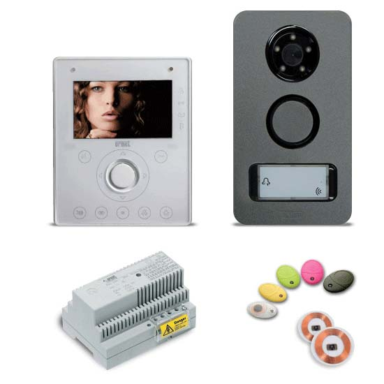 Urmet Kit NOTE - 2 wire One-Family kit with Aiko monitor