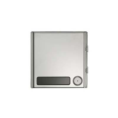 Urmet S-Steel front panel module with 1 button