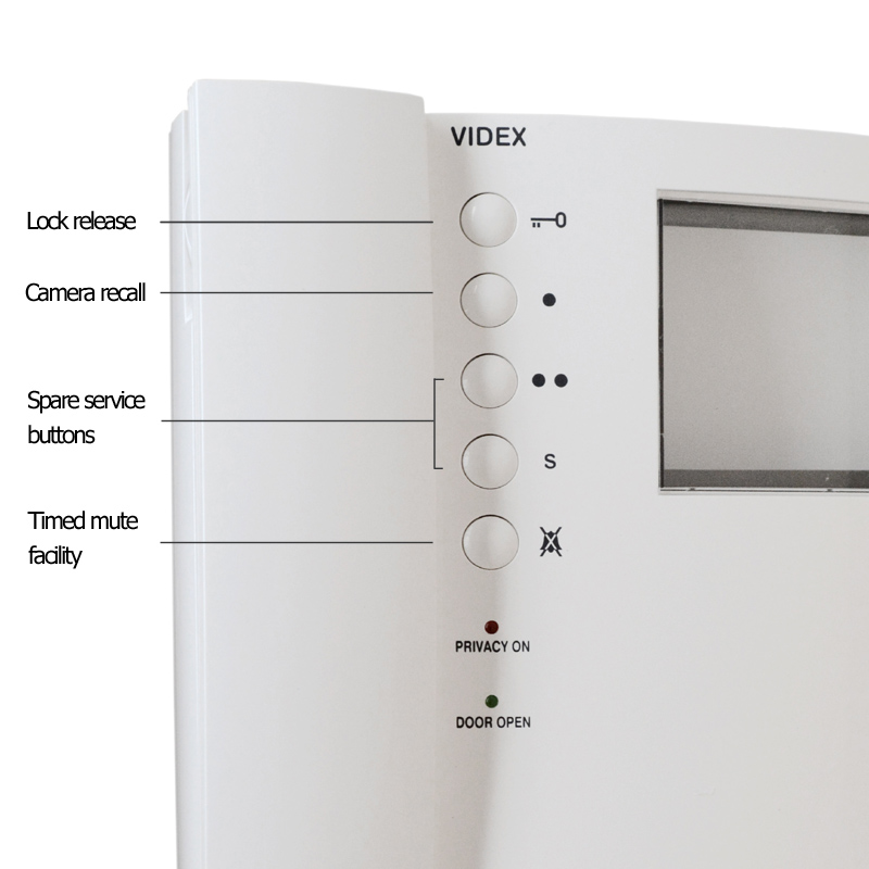 Videx v 3356 videx 3000 monitor mono requires 3980 kit monitor videx 3000 series kit monitor mono asfbconference2016 Images