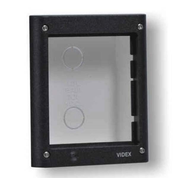 Videx - 1 Module 4000 Series Flush Mount Box In Grey