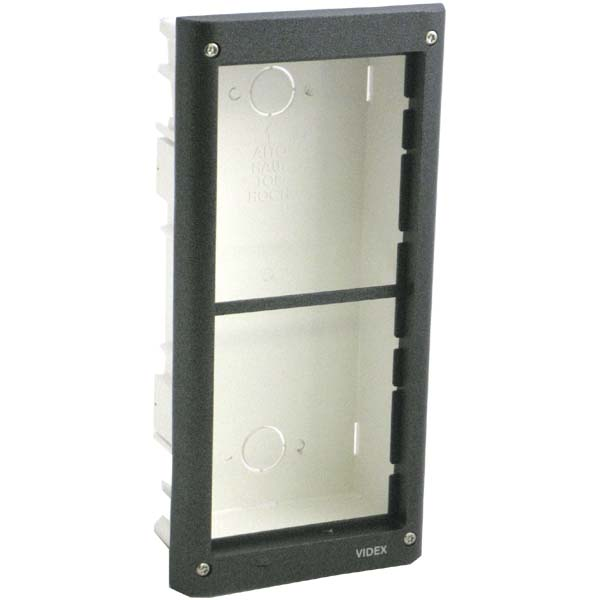 Videx - 4000 Series Flush Mount Box With Gold Frame