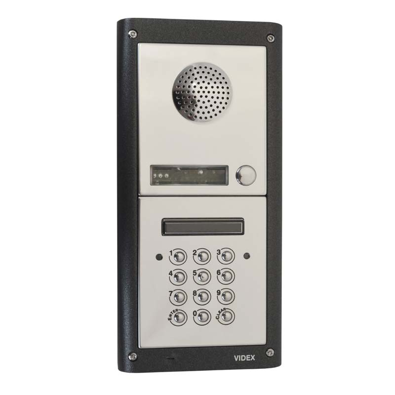 Videx - 10 Way Flush 4000 Series Audio Kit With Keypad