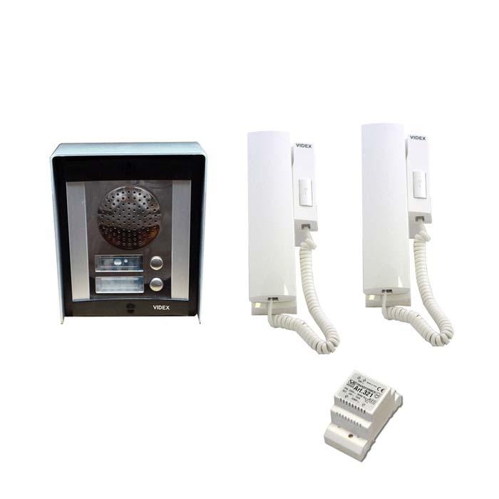 videx intercom system flats apartments 2 way 8000 series. Black Bedroom Furniture Sets. Home Design Ideas