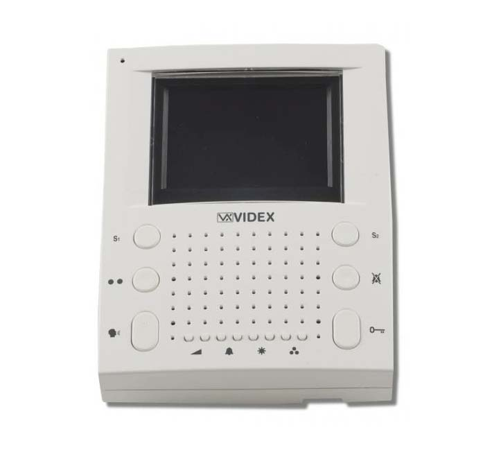 Videx 4000 Series - 2 Way Surface Video Entry Kit with Eclipse Monitor