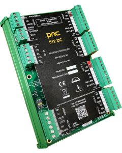 PAC 30055 DIN Mount 512 DC Access Controller for Two Doors.