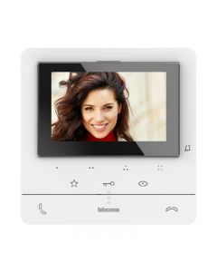 "Bticino Classe 100E Hands-Free Colour Video monitor 5"" and LCD display screen for door entry."
