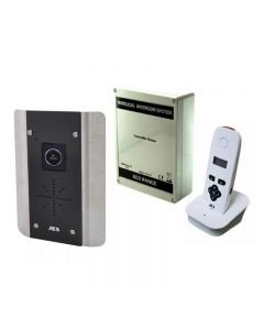 The AES 603-AB-NT is a one way 'No-Touch' wireless intercom system using DECT technology to give a perfect audio quality