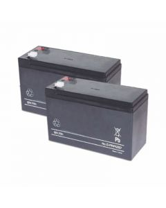 CAME BAT2PK 2 x 1.2ah Batteries for STYLO Range of gate and barrier automation products.