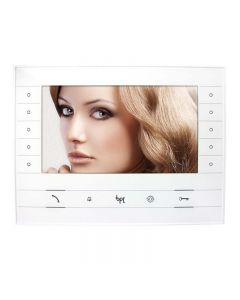 CAME BPT 7 Inch Hands-free Video Monitor (White)