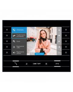 """CAME BPT 7"""" Hands-free IP Video Monitor for IP360 (Black)"""