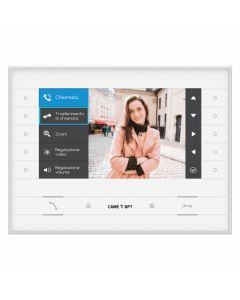 """CAME BPT 7"""" Hands-free IP Video Monitor for IP360 (White)"""
