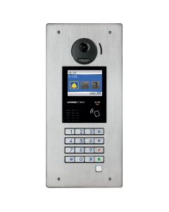Aiphone GT-DMB-N 3-in-1, Stainless-Steel, Digital Video Entrance Station with NFC Reader for door entry.