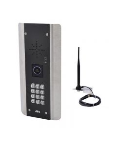 The AES PRIME6-ABK-NT is a 1-way GSM audio intercom kit with a 'No Touch' sensor call point and a built-in keypad.