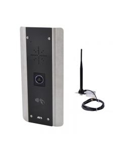 The PRIME6-PX-AB-NT is a 1-way GSM audio intercom with a touch free button and a built-in proximity reader for added security.