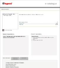 Bticino brochure for 049210