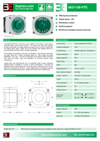 3E0657-GB-PTE data sheet