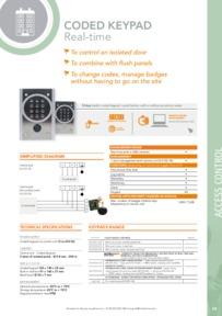 Intratone 12-0103 data sheet
