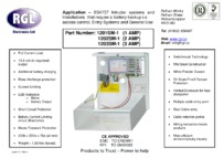 RGL 1201SM-1 data sheet