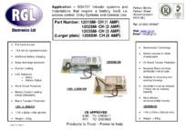 RGL 1203SM-CH data sheet