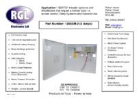 RGL 1205SM-2 feature sheet