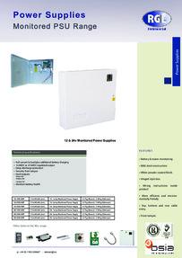 RGL 12 & 24v SM-2MP data sheet