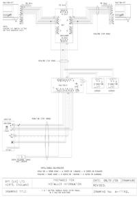 1 X 1 BUTTON TARGHA VIDEO ENTRY PANEL & 2 x VM100 MONITORS