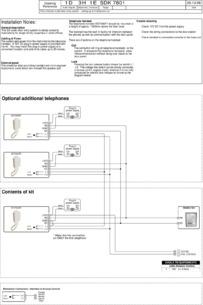 SDK audio kit wiring diagram (7801 panel)