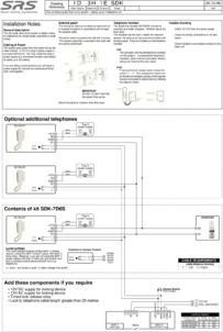 SDK audio kit wiring diagram (7D6S panel)