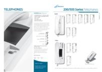 Entryphone brochure 200/500 Series