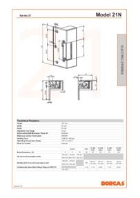 Dorcas 204-205-207 data sheet