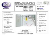 RGL 2405SM-2 data sheet