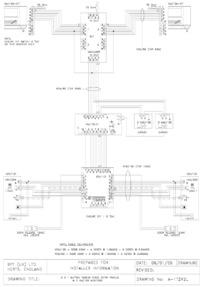 2 X 1 BUTTON TARGHA VIDEO ENTRY PANELS & 2 x VM100 MONITORS