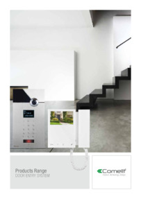 Comelit - Door Entry System catalogue 2015 (36 pages)