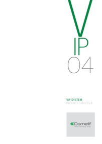 Comelit - ViP System catalogue (84 pages)