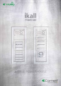 Comelit - iKall Metal catalogue (12 pages)