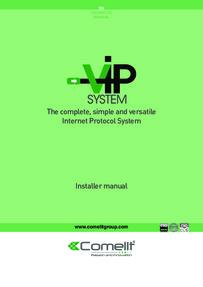 Comelit ViP manual