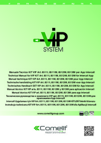 VIP Wiring data sheet